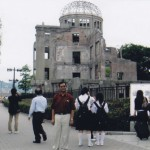 Hiroshima Dome Where the Atom Bomb was dropped
