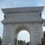 Triumphal gate at Macedonia