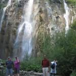 Water falls at Plitvice Lakes