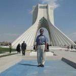 Ajadi Tower at Ajadi Square at Tehran