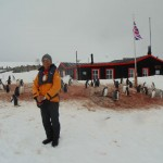 UK research centre Port Lockroy Antarctica