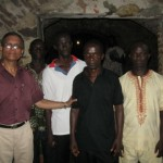 In the dengian of Male Slaves at Cape Coast Castle, Ghana
