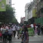 Busy Road Guatemala City
