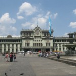 National Palace from the Parque Central in Guatemala City