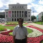 Latvian National Opera at Riga