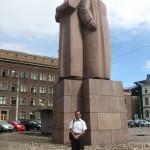 Near Riga Town Hall, Capital of Latvia