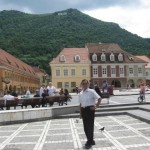 Brasov, a medieval city 166 km far from Bucharest