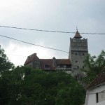 Dracula's (Bran) Castle where Dracula, character of Bram Stoker's, lived