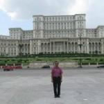 Palace Of parliament initiated by Ceausescu who was executed in the revelution, Bucharest