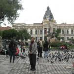 Presedential Palace at La Paz Bolivia