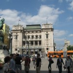 The Republic Square at Belgrade, Serbia