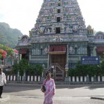 Hindu Temple at Victoria, Sychelles