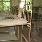 Chernobyl village - abandoned Primary School