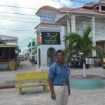 At San Pedro Island, Belize