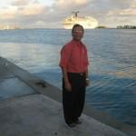 Ocean views near Harbour, Bahamas