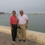 In Capital Manama, Bahrain with my cousin