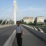 Millenium Bridge at Podgorika