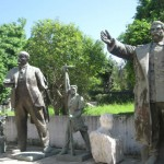 Removed Statues of Dictators including Hoxha