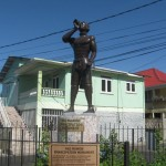 Emancipation (from slavery) Monument at Roseau, Dominica