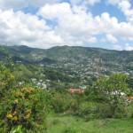 Kingstown's views from the Fort Charlotte, St. Vincent