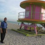 On the Miami Beach, USA