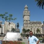 Plaza Independencia, Monte-video, Uruguay
