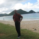 Reduit Beach, far from the capital Castries, St. Lucia
