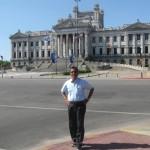 The Legislative Palace (Parliament) in Monte-video, Uruguay