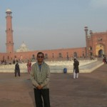 At Badshahi Mosque, Lahore