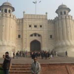 At the Lahore Fort, Pakistan