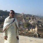 Views of Katasraj Temple from the newly built Dharamshala at Katasraj